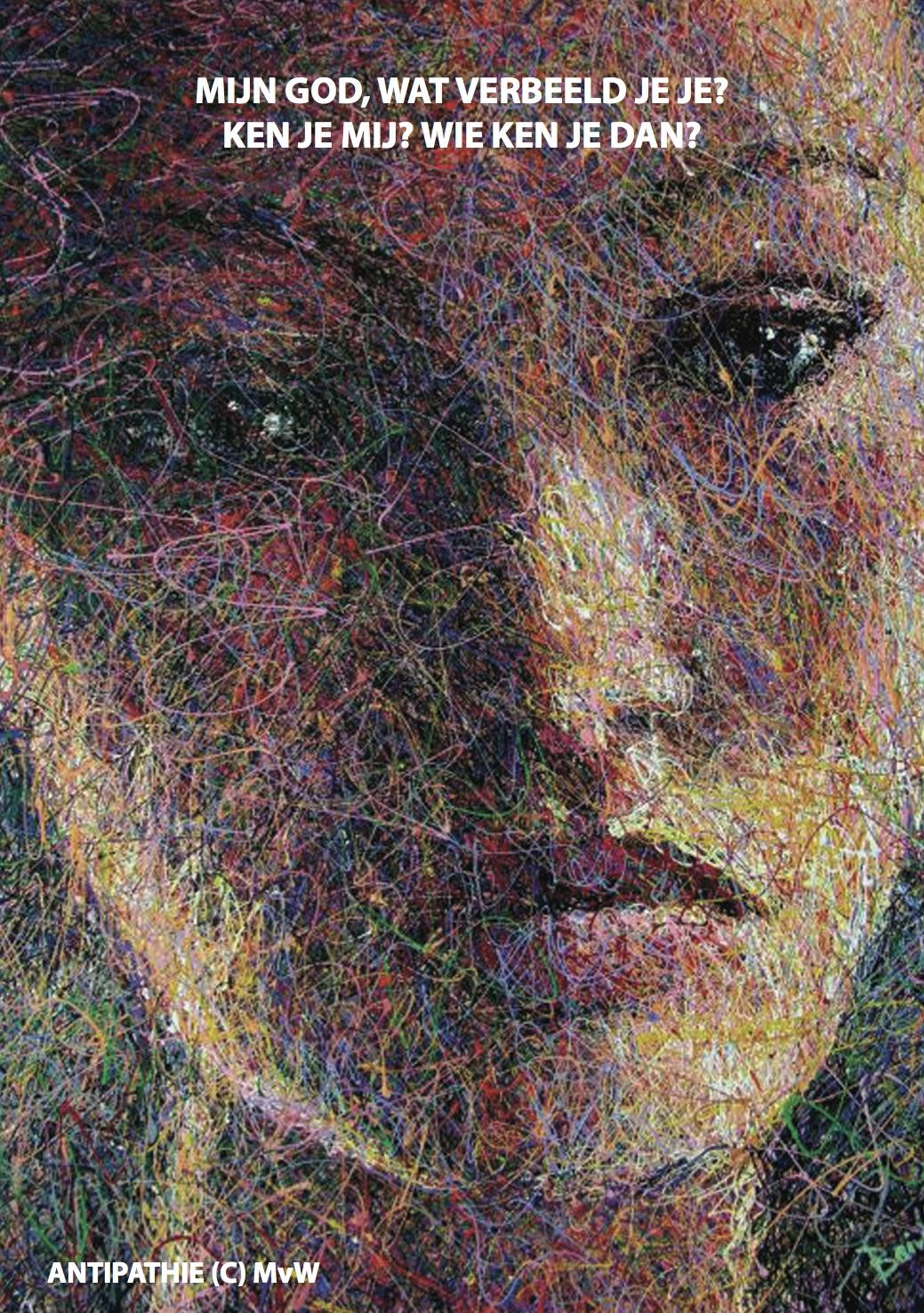 Jezebel- Andy Baird - acryl latex op canvas